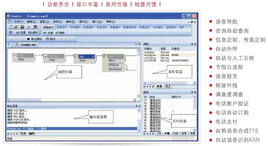 IVR流程编辑器